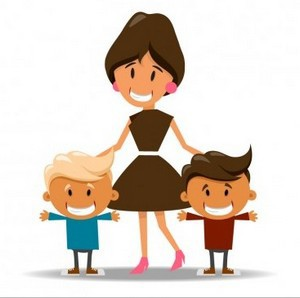mother-with-her-sons_1012-204